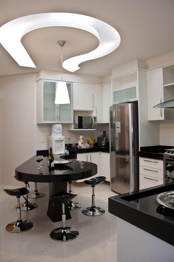 ديكور مطبخ جبس- ديكور الجبس في المطبخ