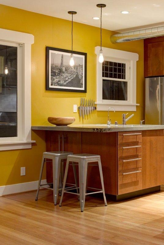 ديكور مطبخ جبس- لون الأرضيات