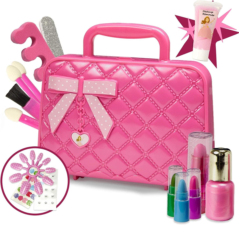 هدايا أطفال 5 سنوات- حقيبة مكياج