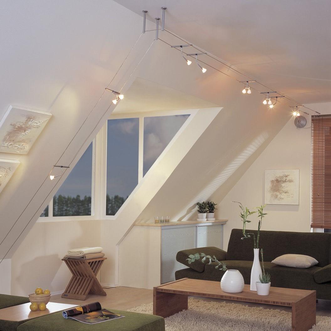 إضاءة الغرف الضيقة- التراك لايت