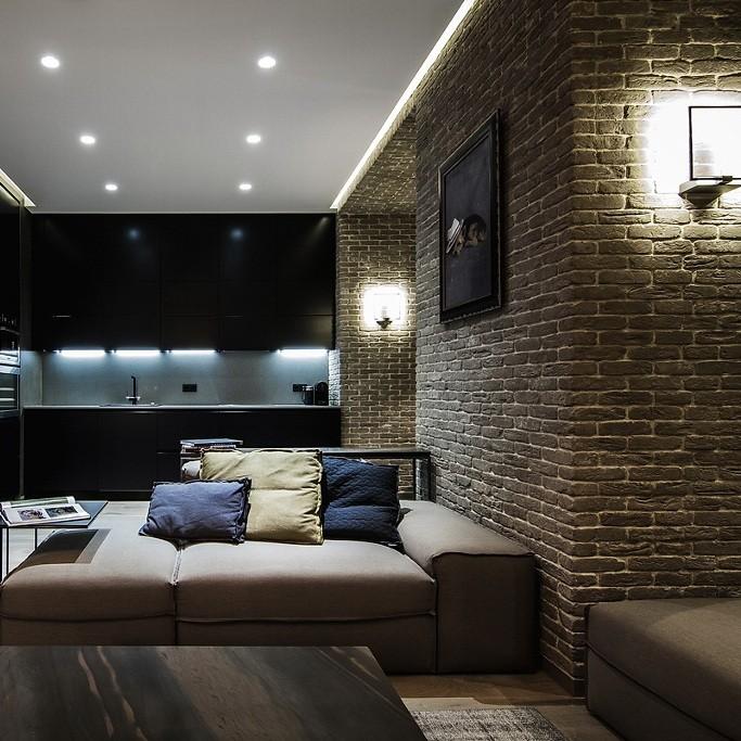 إضاءة الغرف الضيقة- وحدات الإنارة الصغيرة