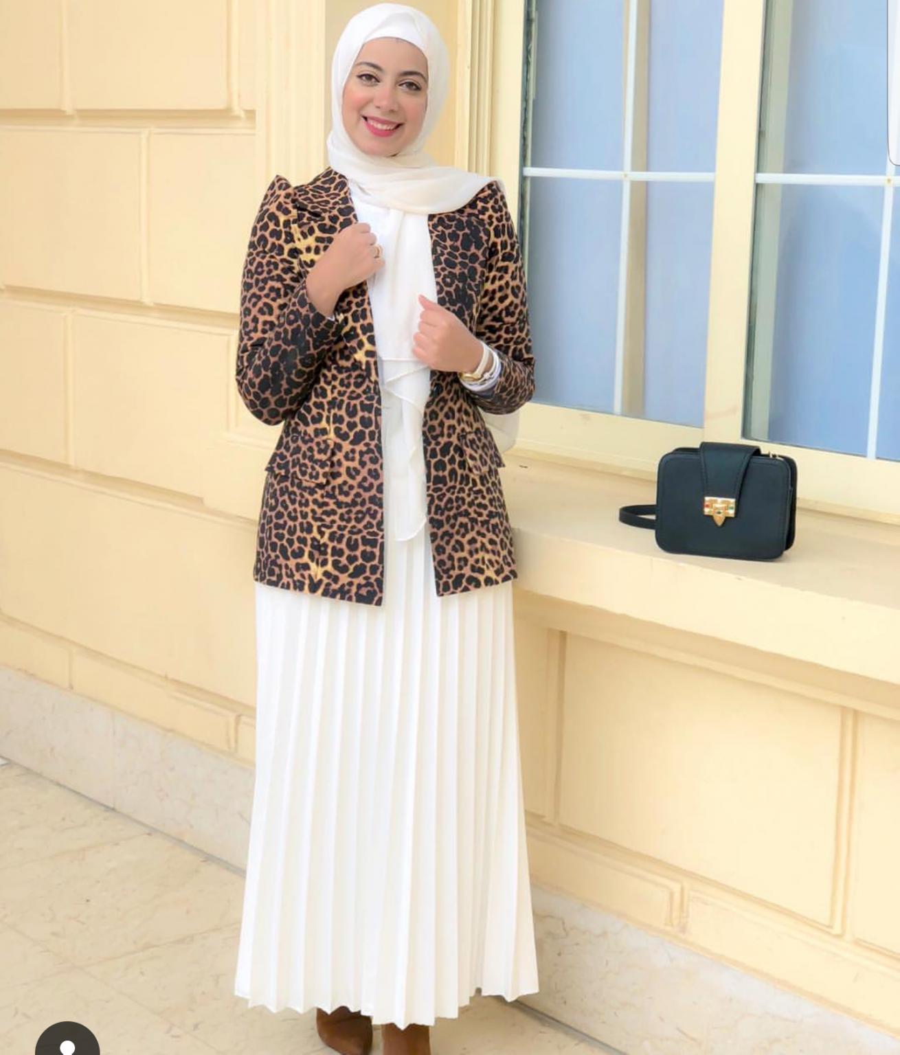 ملابس محجبات- البليزر التايجر