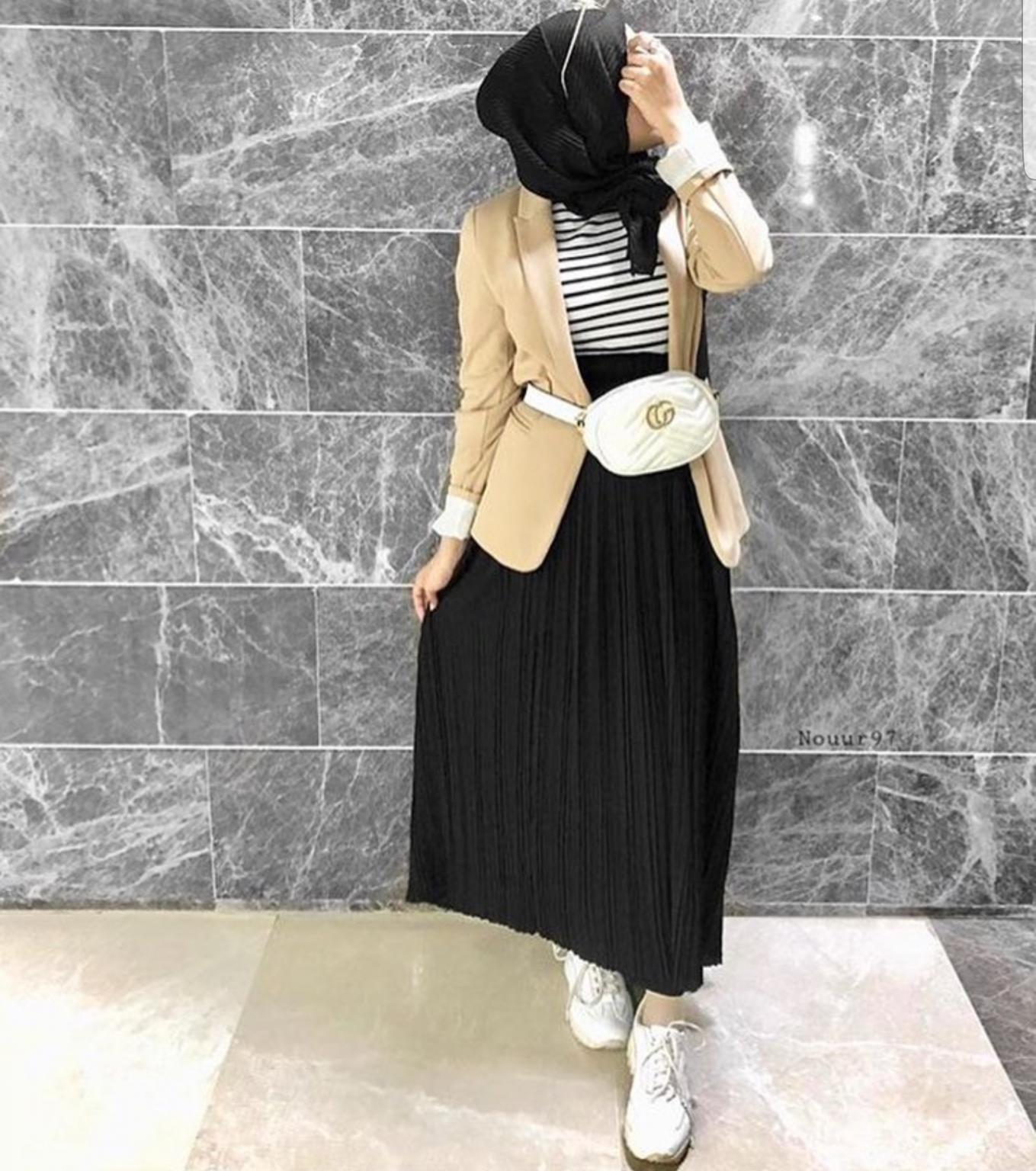 ملابس محجبات- الجيب البليسيه