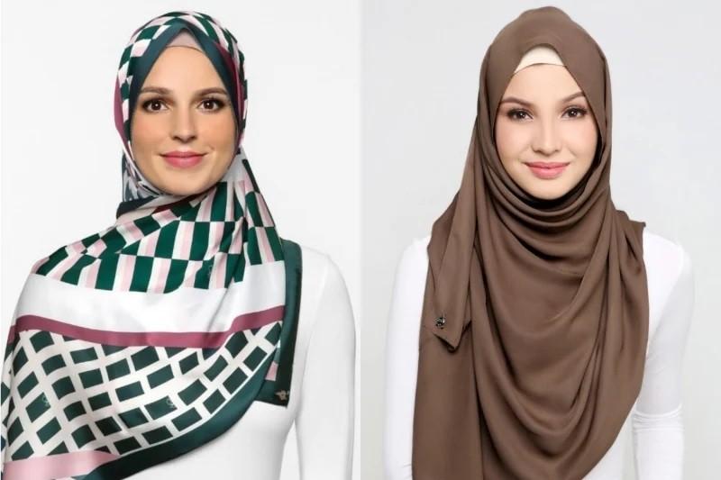 ملابس محجبات- اللفة التركي