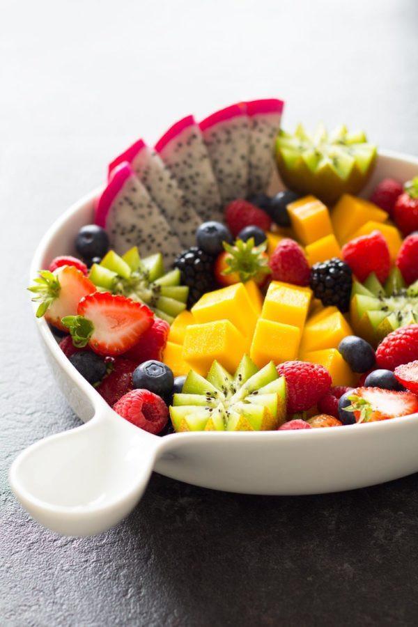 طريقة عمل سلة فواكه - طبق فاكهة