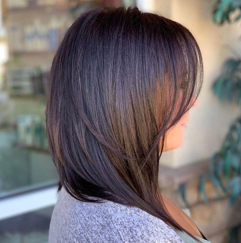 قصات شعر قصيرة للشعر الخفيف - الأطراف الطويلة