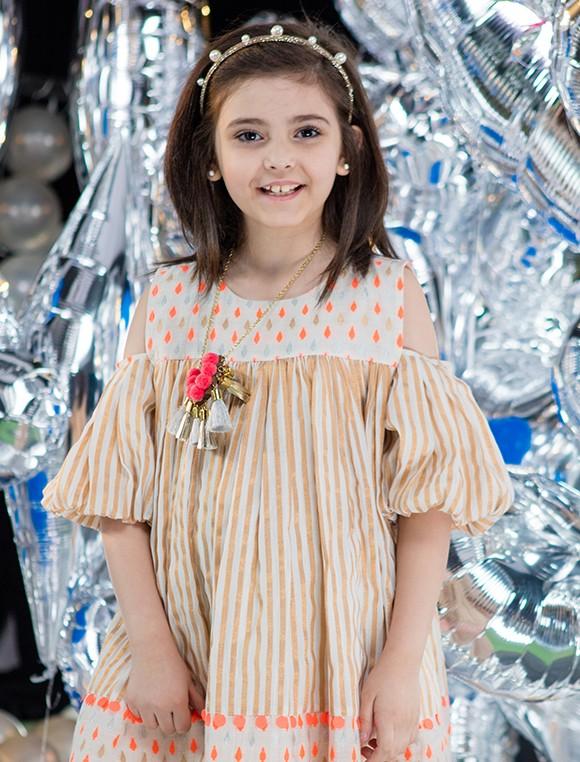 ملابس رمضان للبنات الصغار - فستان واسع