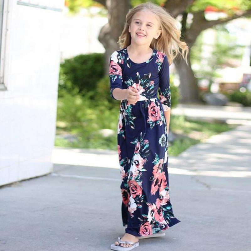 ملابس رمضانية للبنات 2020 - فستان بناتي