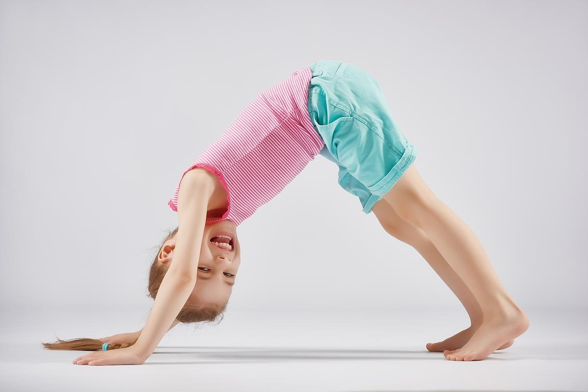 تمارين عضلات البطن للأطفال - تمرين البلانك