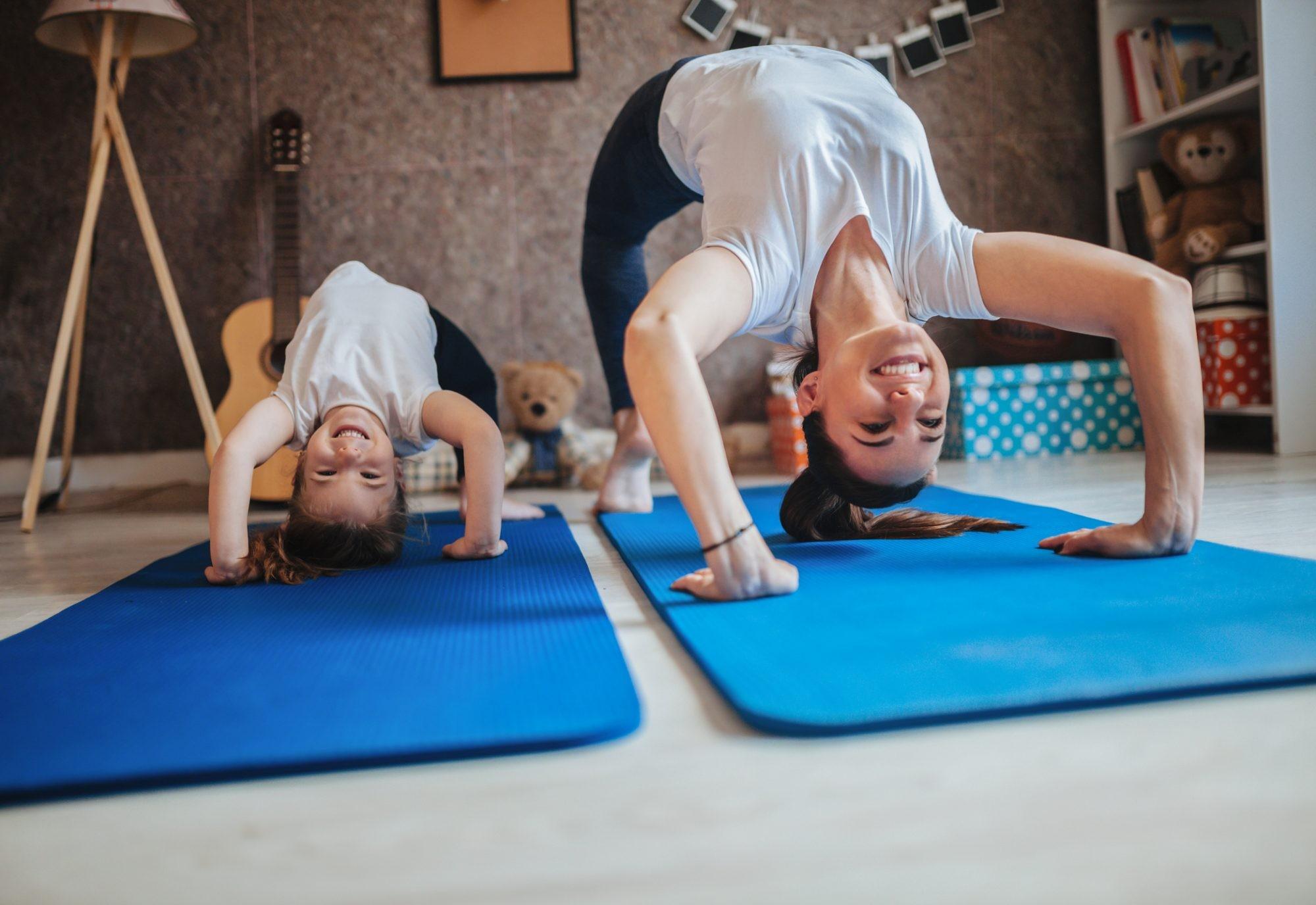 تمارين لتقوية العضلات للأطفال - تمرين الضغط والرفع