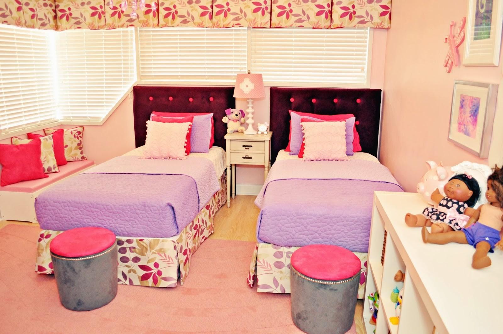 ديكور غرف نوم أطفال جزائرية- غرفة أطفال بسريرين