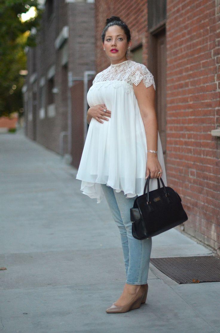 ملابس تناسب الحامل - بلوزة واسعة