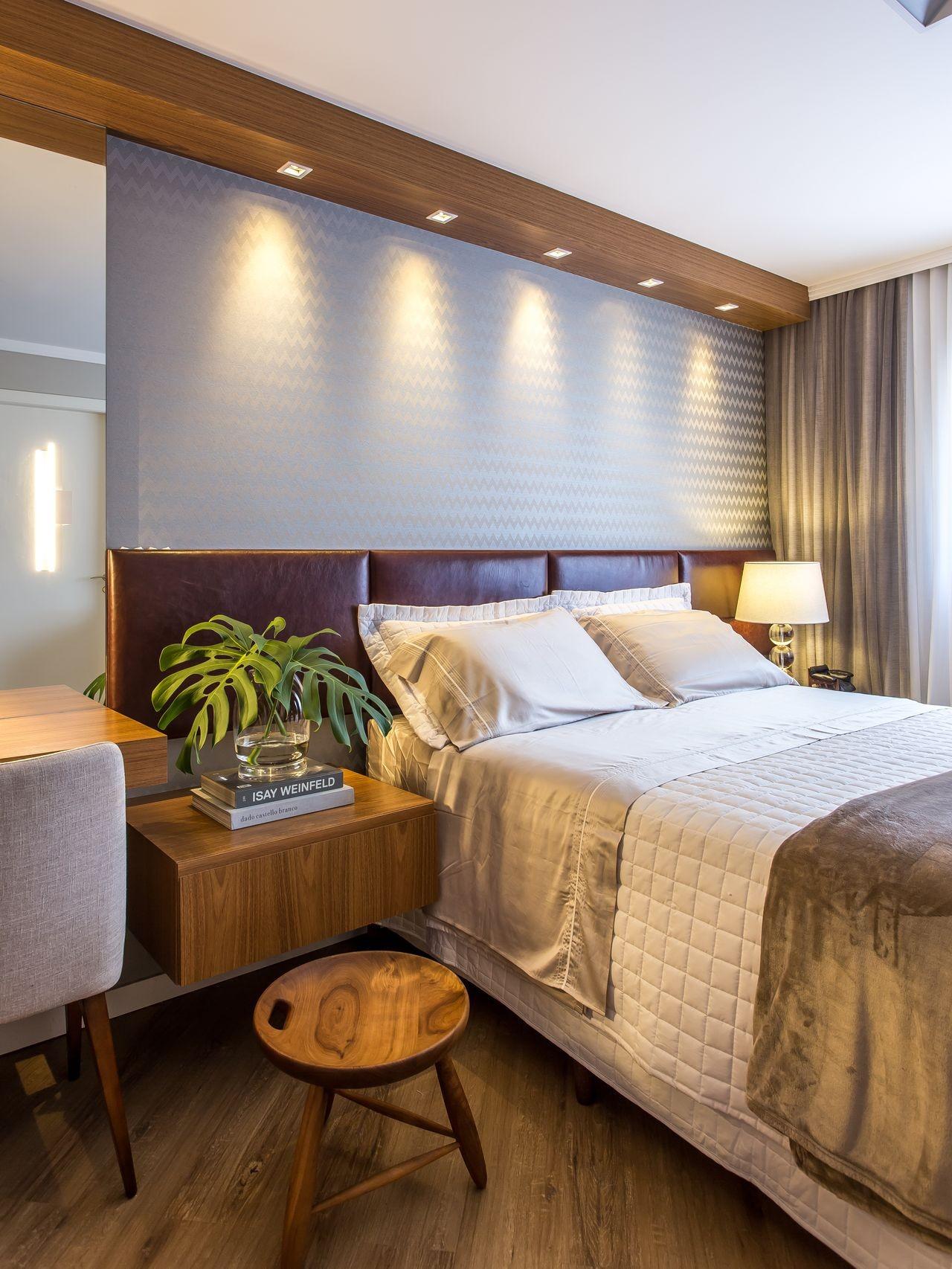 أشكال إضاءة غرف النوم - إضاءة سقف