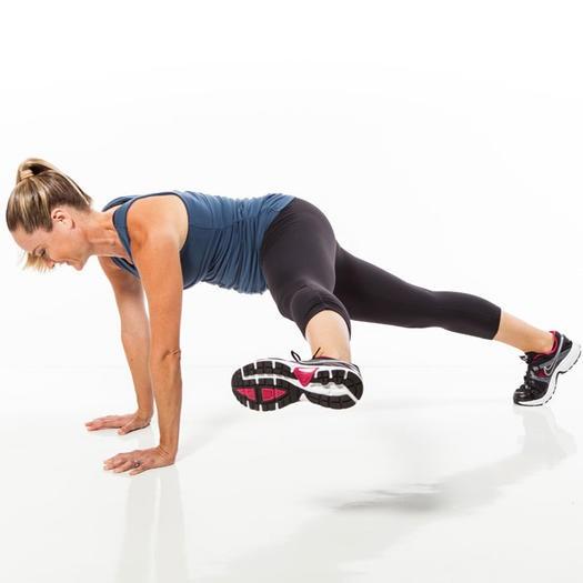 تمارين الجسم الكمثرى-بلانك الساق