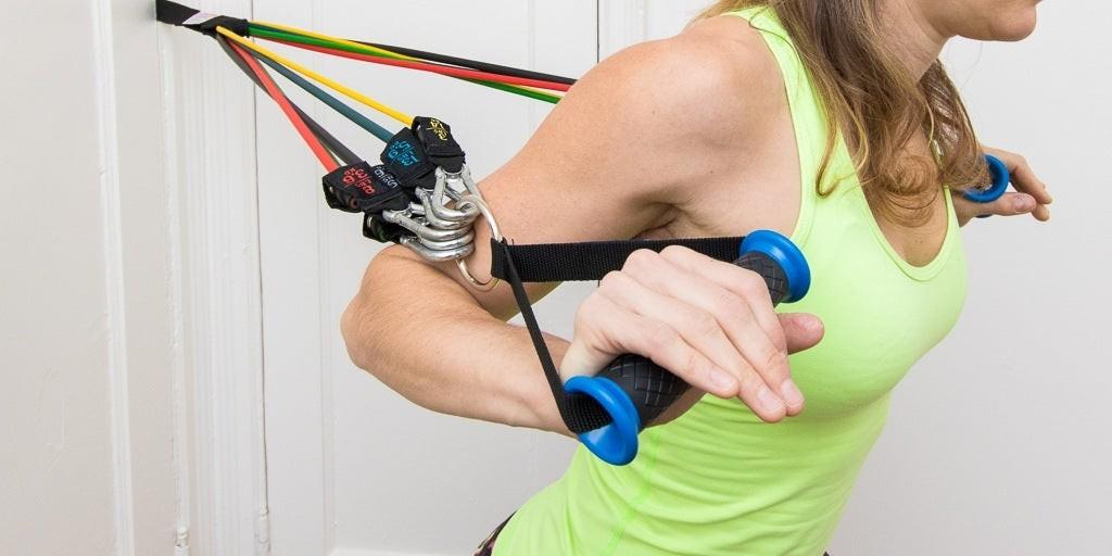 أفضل جهاز رياضي للجسم التفاحي-حزام المقاومة