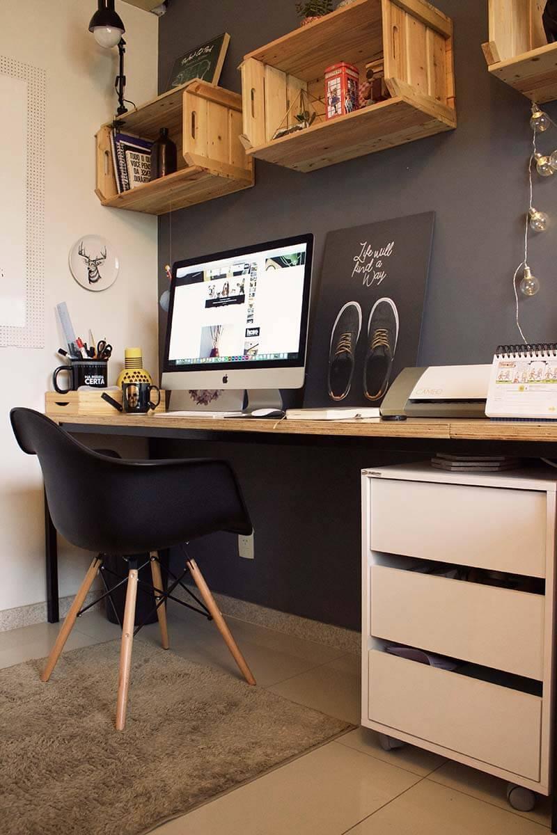 أشكال المكاتب المودرن المناسب لغرف الشباب-مكتب شبابي