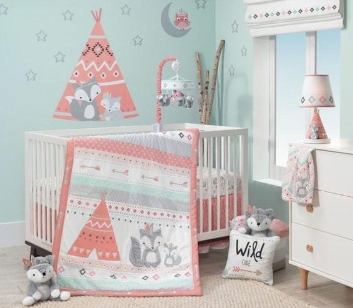 ديكور غرف أطفال حديثي الولادة-غرفة برسومات