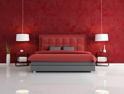 بالصور غرف نوم باللون الأحمر-غرفة باللون الأحمر