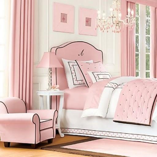 بالصور غرف نوم باللون الوردي-غرفة نوم صغيرة