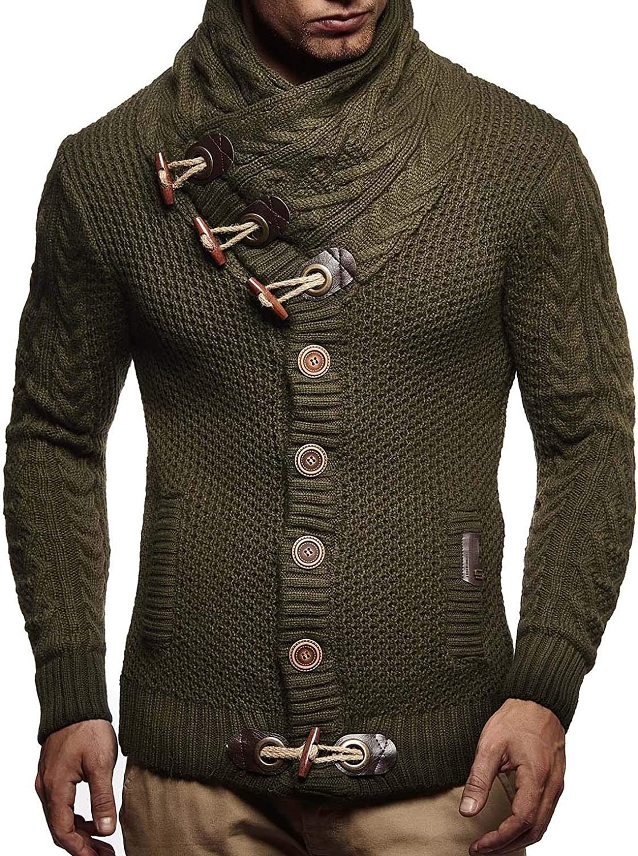 موضة ملابس رجال شتاء-كارديجان بأزرار