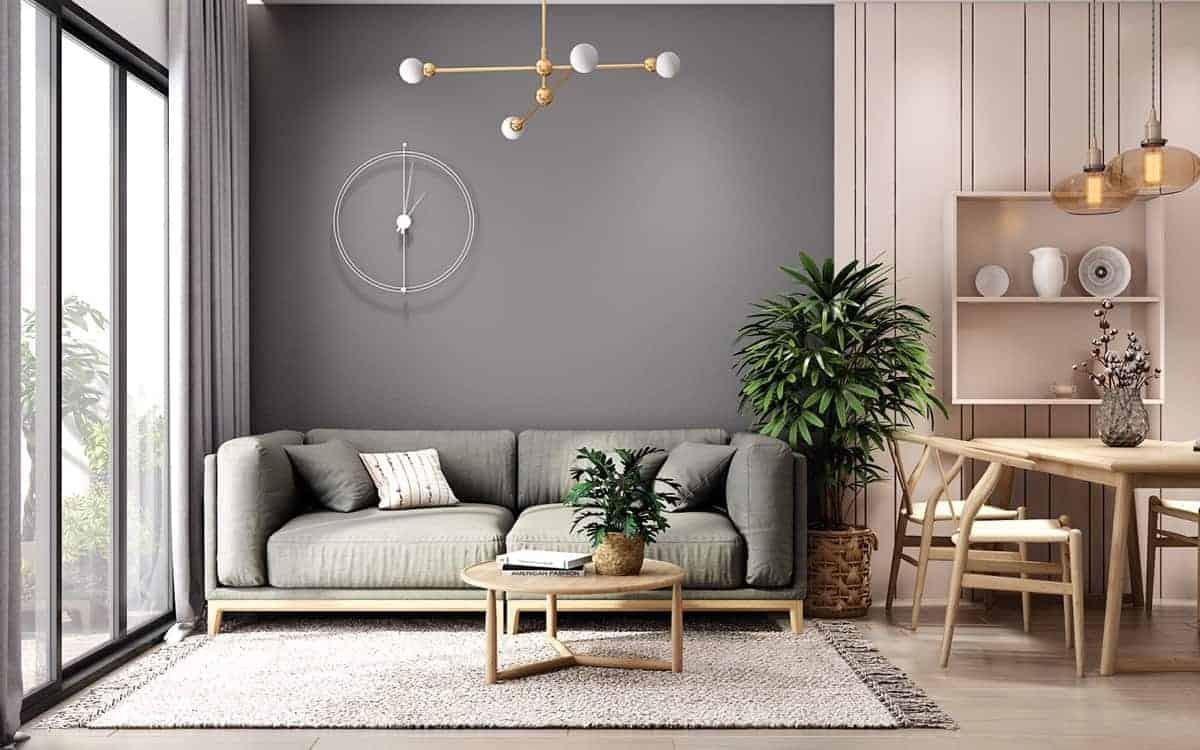 أشكال غرف معيشة 2021-غرفة معيشة بسيطة