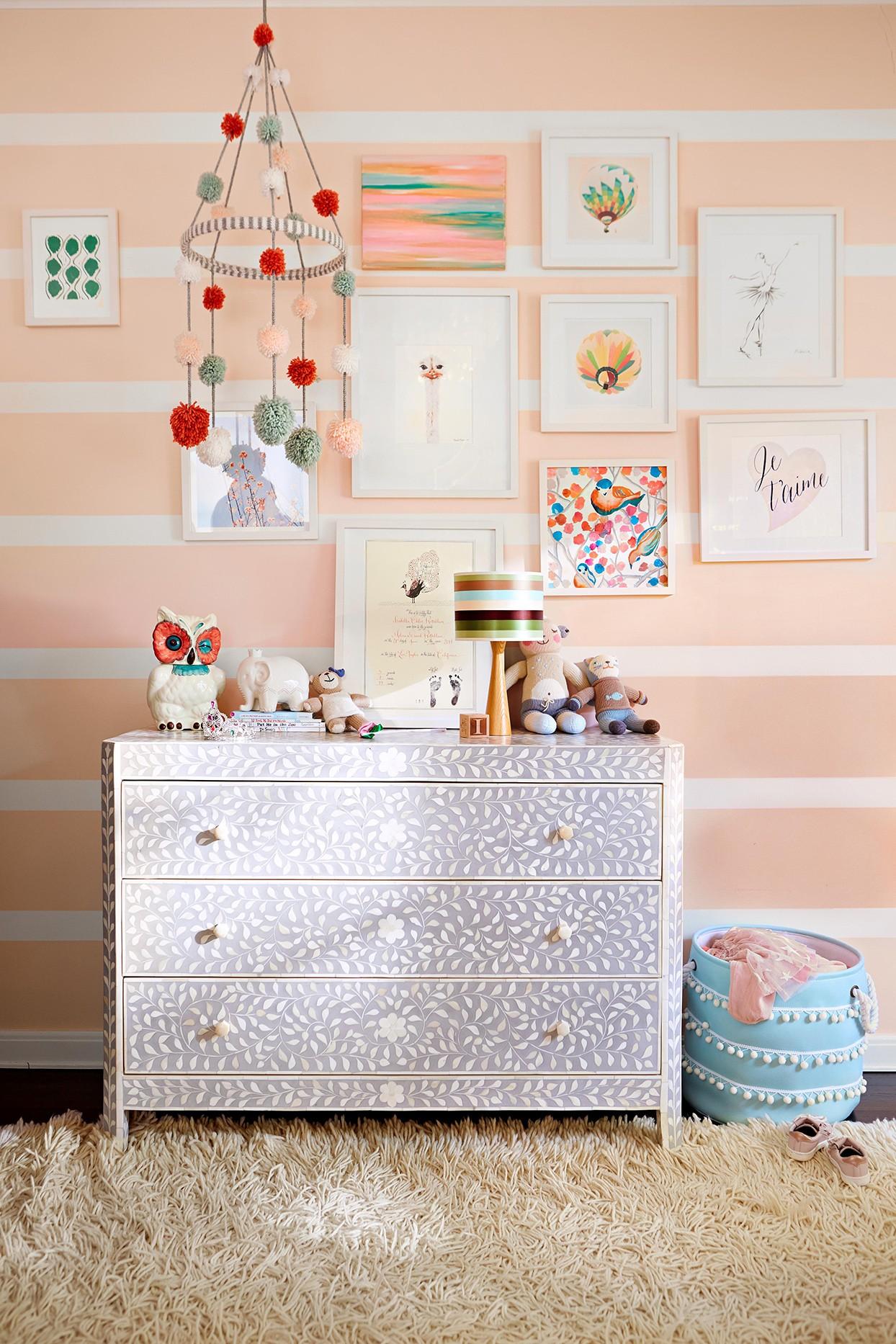 ألوان دهانات مناسبة لغرف أطفال بنات-غرفة سيمون