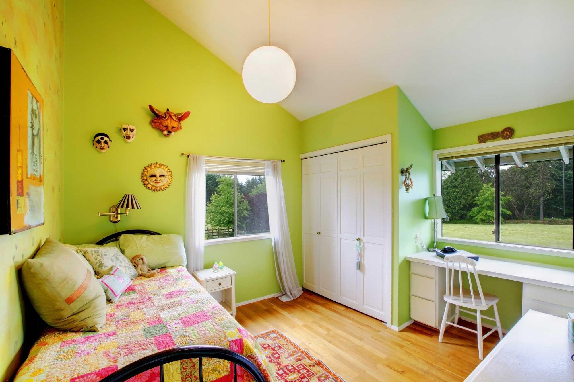 ألوان دهانات مناسبة لغرف أطفال بنات-غرفة بنات