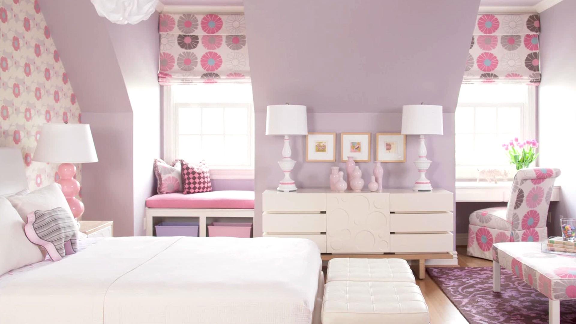 ألوان دهانات مناسبة لغرف أطفال بنات-غرفة موف