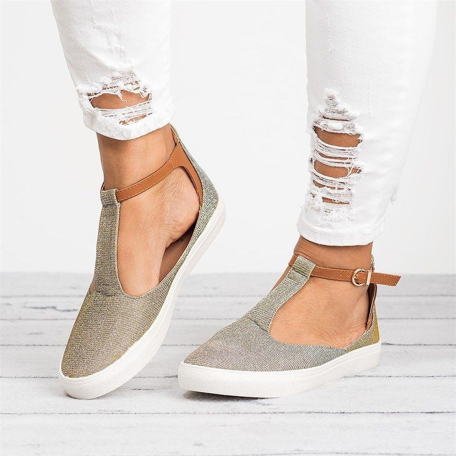 أنواع الأحذية النسائية-حذاء كاجوال