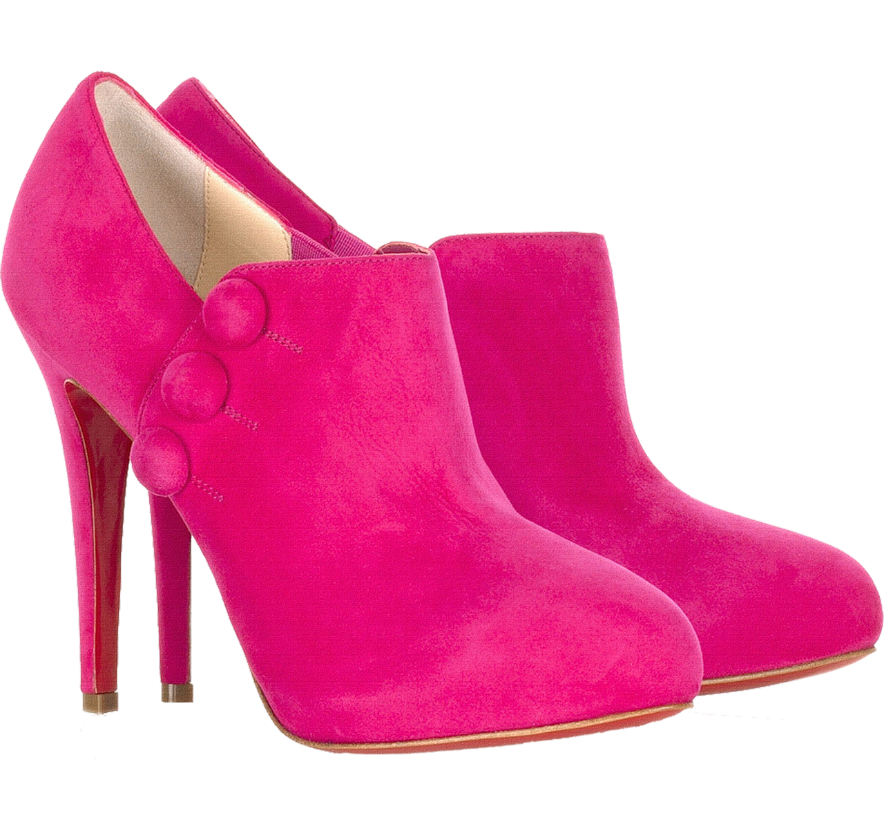 أنواع الأحذية النسائية-حذاء فوشيا