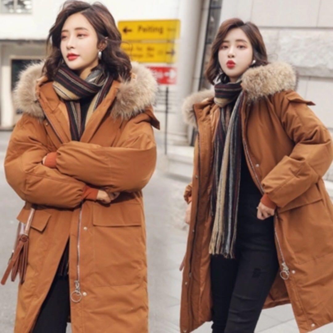 الستايل الكوري الشتوي للمحجبات-معطف شتوي