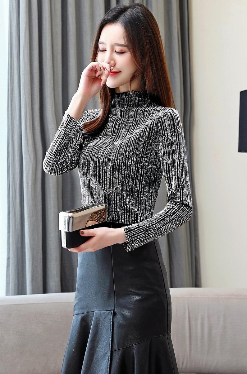 الستايل الكوري الشتوي للمحجبات-ملابس سهرات