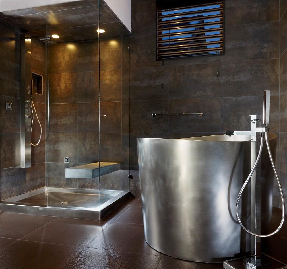 إضاءات حمامات مودرن-إضاءة بانيو