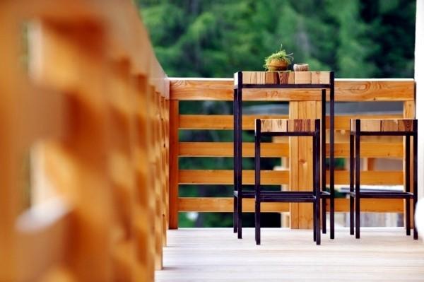 أشكال تقفيل بلكونة خشب-تقفيل بلكونة خشب