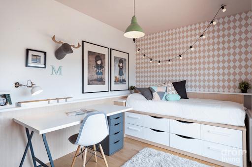 غرف نوم أطفال تركي-غرفة أطفال بسيطة