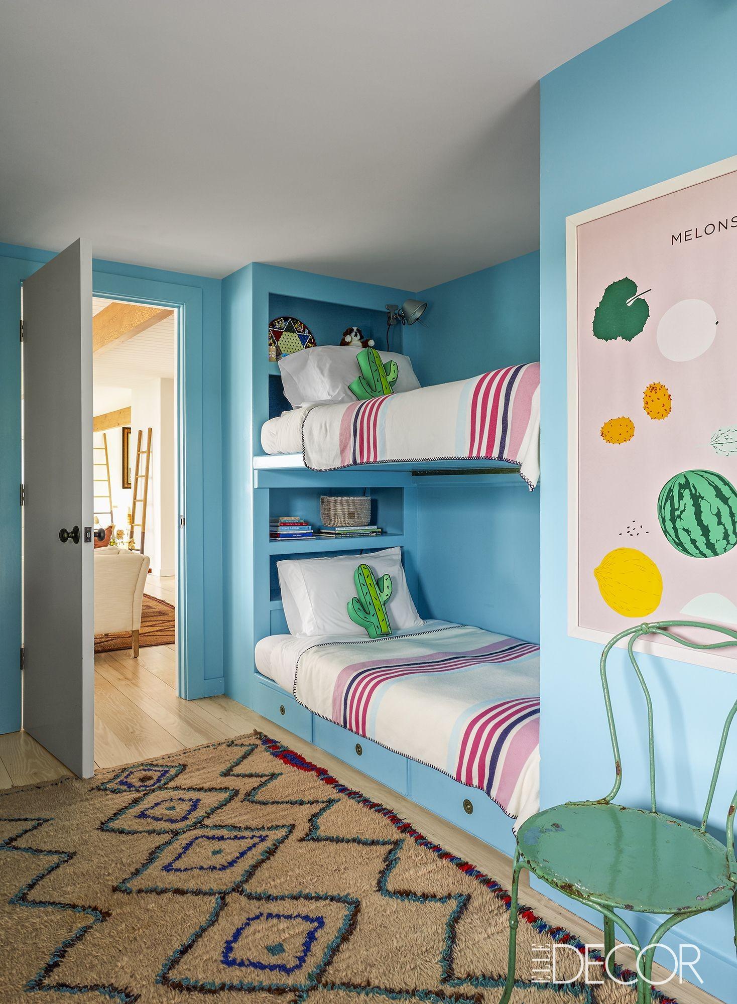 غرف نوم أطفال تركي-غرفة باللون اللبني
