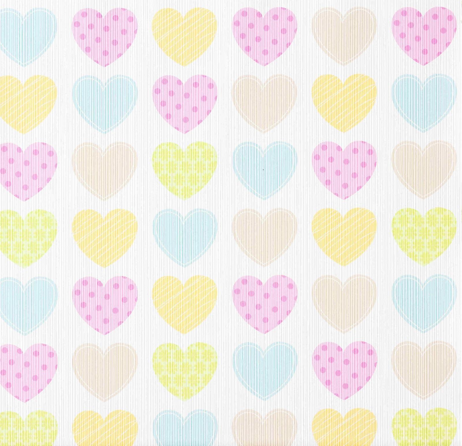 ديكورات غرف نوم للبنات 2021-ورق حائط قلوب