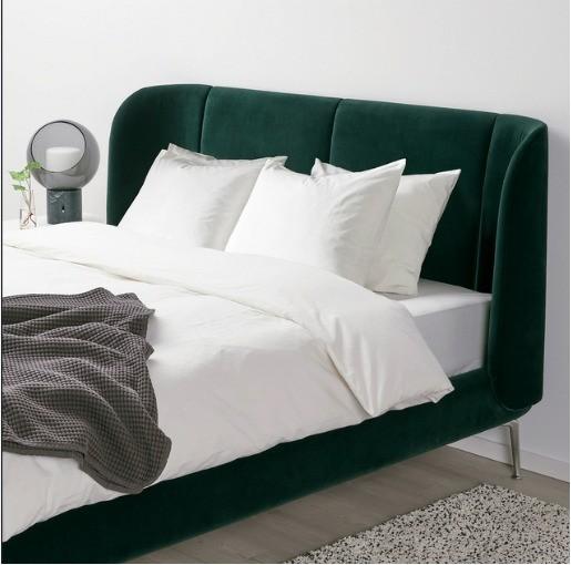 غرف النوم أيكيا-سرير أخضر