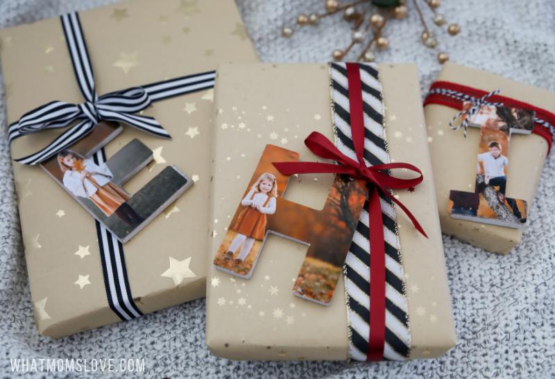 تغليف هدايا عيد الأم-أول حرف