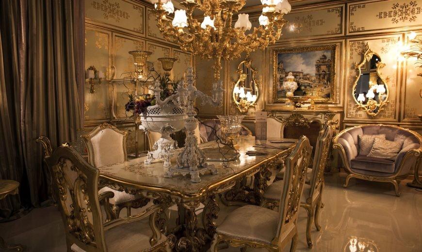 غرف سفرة كلاسيك-غرفة سفرة ملكية