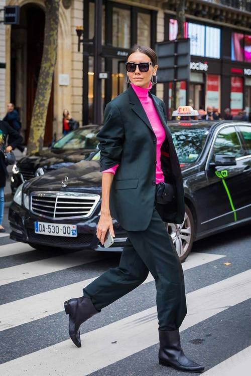 ملابس كلاسيك-بدلة سوداء