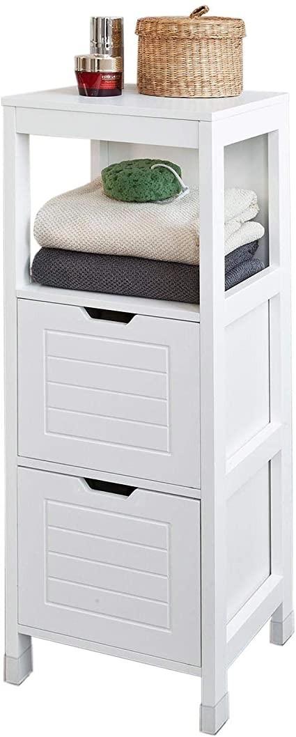 أفكار لتنظيم الحمامات الصغيرة-وحدة تخزين منفصلة