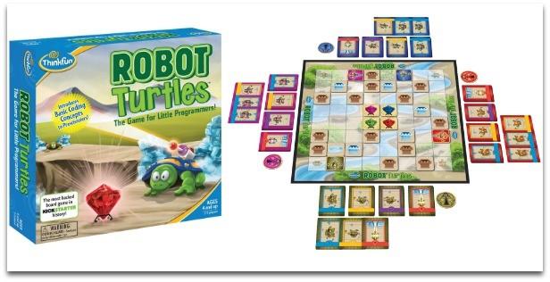 تأثير ألعاب الطفل على شخصيته-سلاحف الروبوت