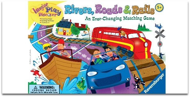 تأثير ألعاب الطفل على شخصيته-الأنهار والطرق