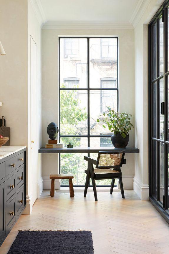أفكار بسيطة لتزيين زوايا المنزل بالصور - إعداد مساحة عمل