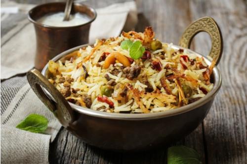 إعادة تدوير الأرز المطبوخ - طريقة عمل الأرز باللحم المفروم والخضار