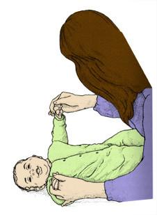 تمارين للأطفال الرضع - تمرين الذراعين