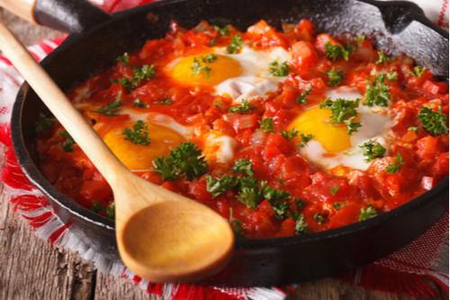 وصفات بالبيض المقلي - طريقة عمل البيض على الطريقة التركية