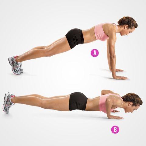 كيفية الوقاية من ترهل الصدر أثناء الرضاعة- تمارين شد الصدر-التمرين الثاني