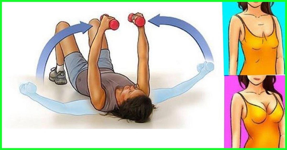 كيفية الوقاية من ترهل الصدر أثناء الرضاعة-تمارين شد الصدر- التمرين الأول